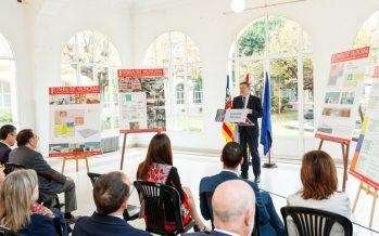 La Generalitat presenta la inversión de 100 millones para reformar el antiguo Hospital Militar