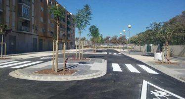 Acaban las obras de acceso al Colegio Público Antonio Machado en Torrefiel
