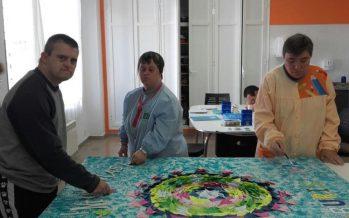 El Centro Ocupacional Buris-ana del IVAS colabora en los actos icontra la violencia machista
