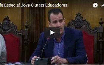 Alcoi celebra el Dia Internacional de les Ciutats Educadores amb un Plenari Jove