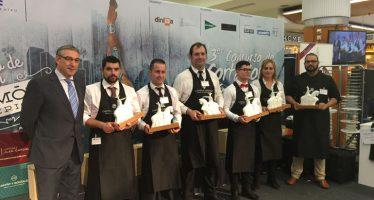 Tercer concurso de cortadores de jamón Ciudad de Valencia