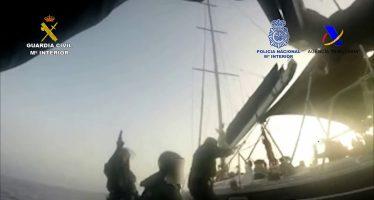 Desarticulada una importante organización que introducía droga por mar con destino a Libia y Egipto