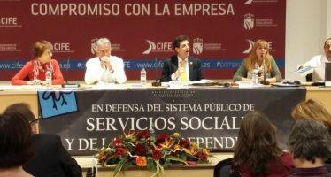 Representantes de Inclusión Social participan en un congreso estatal de Servicios Sociales