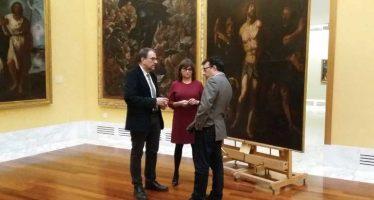 El Museo de Bellas Artes incorpora a su colección permanente 'La flagelación de Cristo', de Vicente Castelló