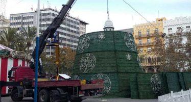 El árbol de navidad de la plaza del Ayuntamiento se podrá visitar por dentro
