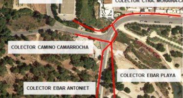 El Ayuntamiento de Teulada y la EPSAR comienzan el plan de mejora de la red de colectores en Moraira