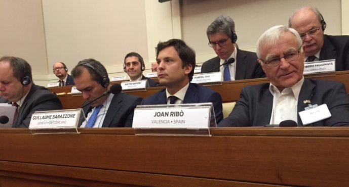 Ribó pide en El Vaticano una oportunidad a la Europa de las Ciudades para resolver la crisis de los refugiados