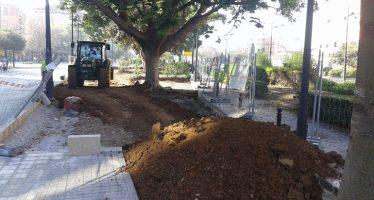 El Ayuntamiento recuperará por fases el bulevar central de la avenida de Aragón