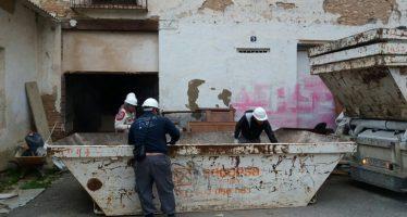 El Ayuntamiento inicia las obras para consolidar las alquerías de la calle Olba