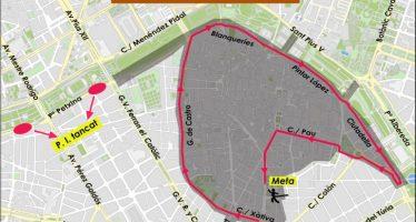 Restricciones de tráfico en Valencia este viernes por la carrera de San Silvestre