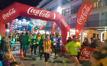 Cerca de 400 corredores participaron en la IX San Silvestre de Altea