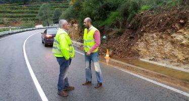 La Diputación de Valencia informa de las carreteras cortadas