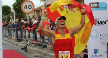 El atleta de Burjassot Eduardo L. Gómez Velasco, sexto del mundo en el Mundial de 100 Km