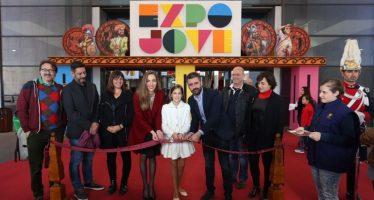 Expojove cuenta con 6.000 metros cuadrados dedicados al deporte y los hábitos saludables