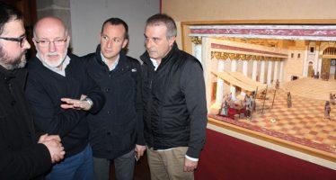 El maestro belenista Miguel Alcocer muestra su obras en Ca la Vila