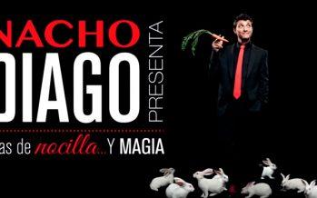 El Talía trae Días de Nocilla y Magia de la mano de Nacho Diago