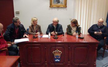 Bravo y Cebrián transmiten el respaldo del Consell a los alcaldes de la Vega Baja afectados por el temporal