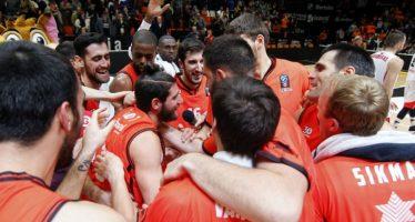 Valencia Basket remonta 11 puntos en el último cuarto al Lokomotiv (78-77)