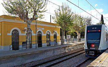 FGV rehabilitó y pintó 18 estaciones de superficie de la red de Metrovalencia en 2016