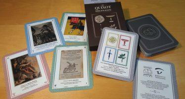 La colección cervantina de la Biblioteca ilustra la baraja de cartas de la Societat Bibliográfica Valenciana