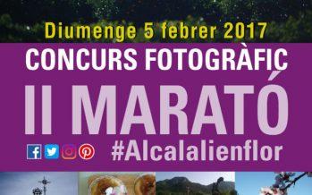 Bases legales del Concurso Fotográfico II Maratón #alcalalienflor