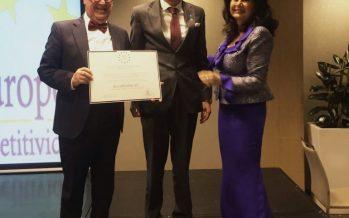 Rúa Abogados, galardonado con la Medalla Europea al Mérito en el Trabajo