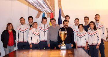 Marzà recibe a las campeonas de Europa de Judo por equipos