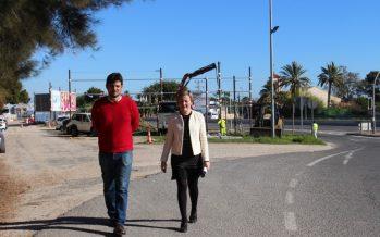 Salvador destaca que la actuación en Sant Joan aportará seguridad a uno de los accesos al municipio