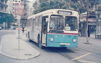 EMT cumple 31 años como servicio público de la ciudad de Valencia