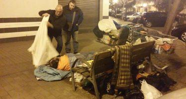 Se intensifica el protocolo contra el frío para personas sin hogar en Valencia y Alicante