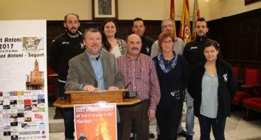Les associacions Sant Antoni, Amics del Cavall y Diabòlica de Morvedre organitzen les festes Sant Antoni 2017