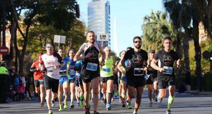 La 15K Abierta al Mar llena de atletas el domingo el Marítimo