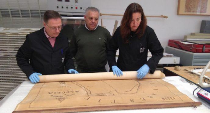 El IVC+R restaura el plano donde se encontró la Dama de Elche