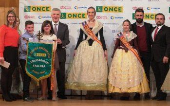 La falla Albuixarres – Camí fondo, de Alzira, ganadora del Premio Especial ONCE Solidaridad Fallera