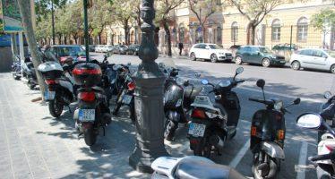 El anillo ciclista liberará de motos las aceras de toda la Ronda Interior
