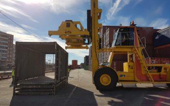 Bodegas Vicente Gandia adquiere 25 unidades del prototipo de contenedor plegable de Navlandis