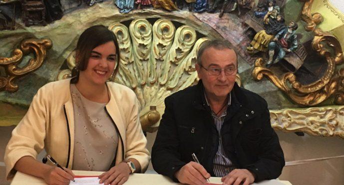 El Gremio de Artistas Falleros firma un convenio con el Pacto por el Empleo de Valencia