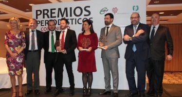 Los premios periodísticos distinguen a Boro Barber, Alberto González y Majo Grimaldo en su VIII edición