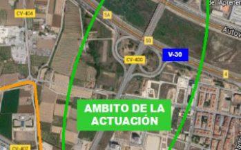 Una nueva ruta ciclopeatonal conectará l'Horta Sud con Valencia desde la CV-400