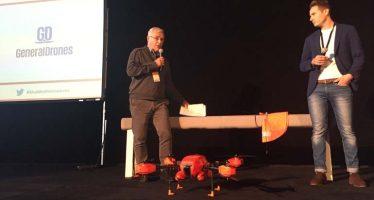 Ribó y emprendedores valencianos presentan en Madrid un proyecto de salvamento marítimo con drones