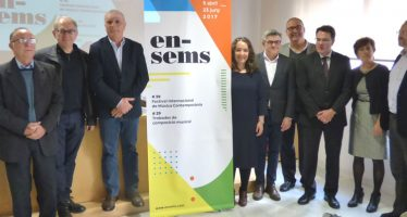 El festival Ensems organiza dos mesas redondas sobre música contemporánea