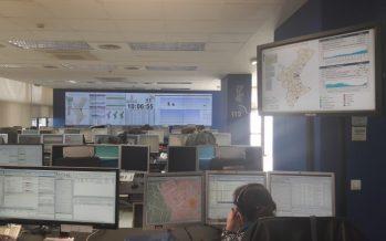 El 112 CV ha atendido 28.140 llamadas y gestionado 9.717 incidentes en Fallas