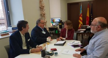 Agricultura acelerará la ejecución del proyecto de la red de riego de Antella