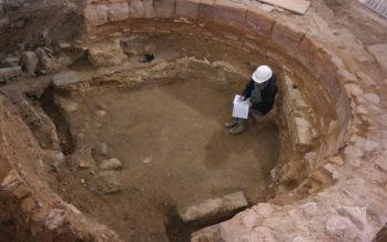 El tesoro de un palacio del siglo XVIII en la excavación de la sede de Micalet