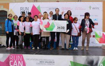 Cheste corre por la lucha contra el cáncer en la RunCáncer 2017