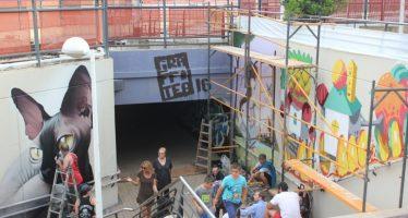Graffitea, el festival de arte urbano de Cheste, celebrará en mayo su segunda edición