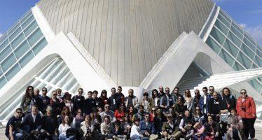 Más de 80 instagramers participan en el VI aniversario de IgersValencia en la Ciutat de les Arts i les Ciències