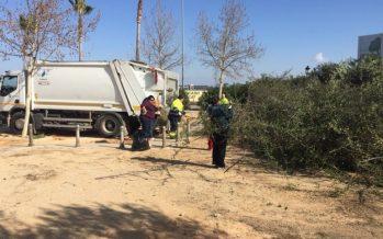 El taller de empleo de Chiva interviene en distintas urbanizaciones, la Sierra y el casco urbano