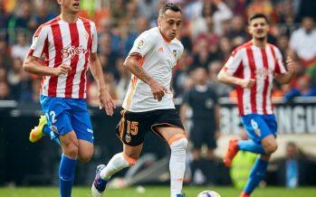 El Valencia CF rescató un punto ante el Sporting 'in extremis' (1-1)