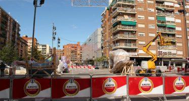 El centro de Valencia se cierra al tráfico el día 16 de marzo a las 15:00